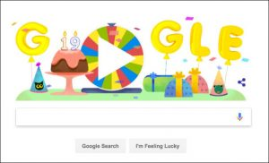 google turns 19